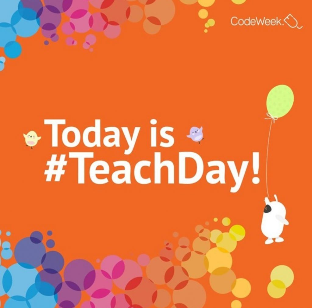 Today is TeachDay